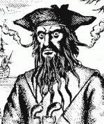 Эдвард Тич Черная Борода - известный пират