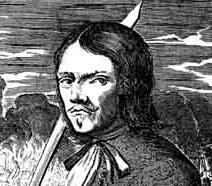 Знаменитый пират Жан Франсуа Но Олоне