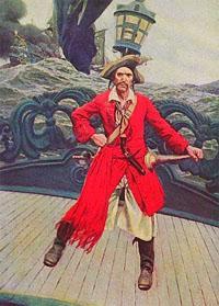 Капитан пиратского корабля