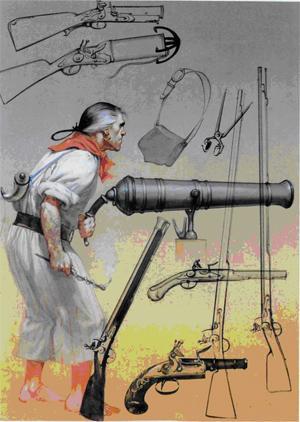 Оружие пиратов