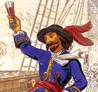 Знаменитый пират Капитан Шарп